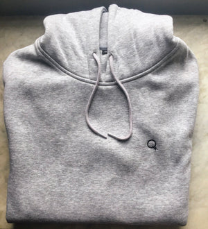 Quiet Thunder Gents Grey Hoody