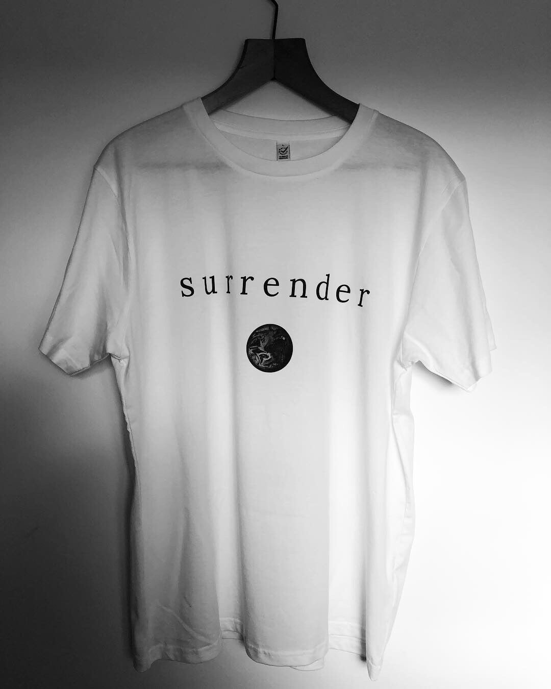 Surrender Organic White Tee Shirt