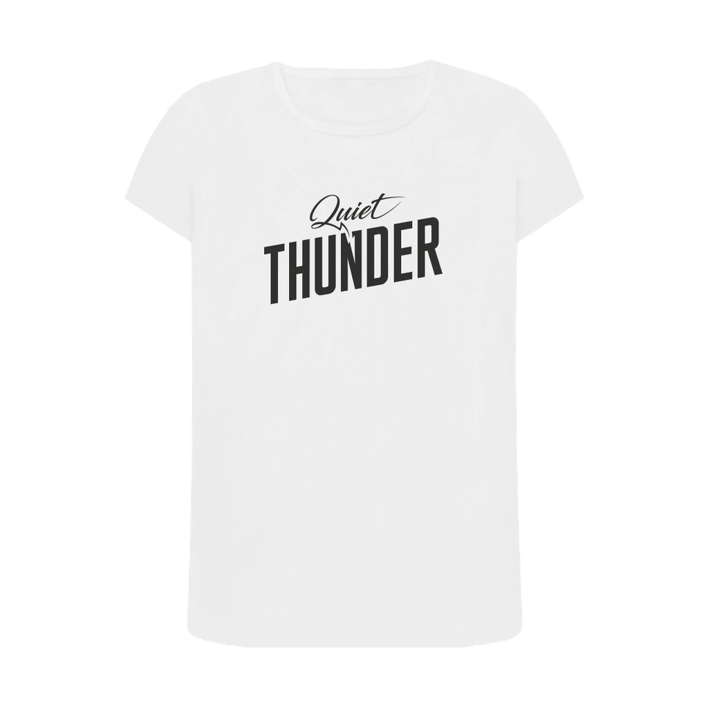 Quiet Thunder T shirt White