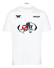 FAF White D3 Senior Classic™ Dri-Fit Performance T-Shirt
