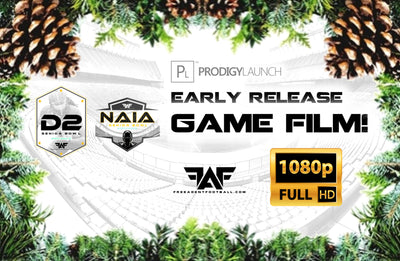 Early Release 2018 FAF D2/NAIA Senior Bowl Game Film! (Download)
