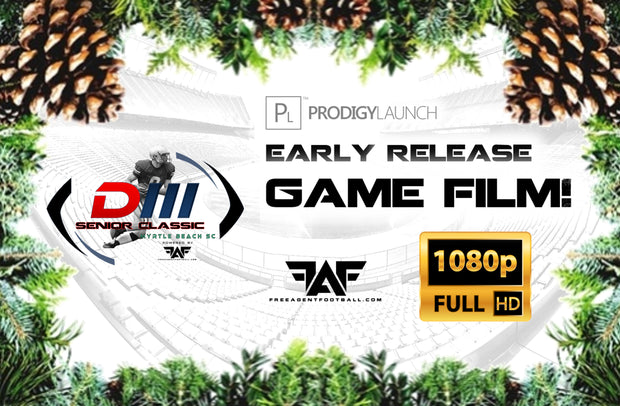 Early Release 2018 FAF D3 Senior Classic Game Film! (Download)