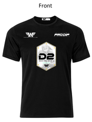 FAF Black D2 Senior Bowl™ Dri-Fit Performance T-Shirt