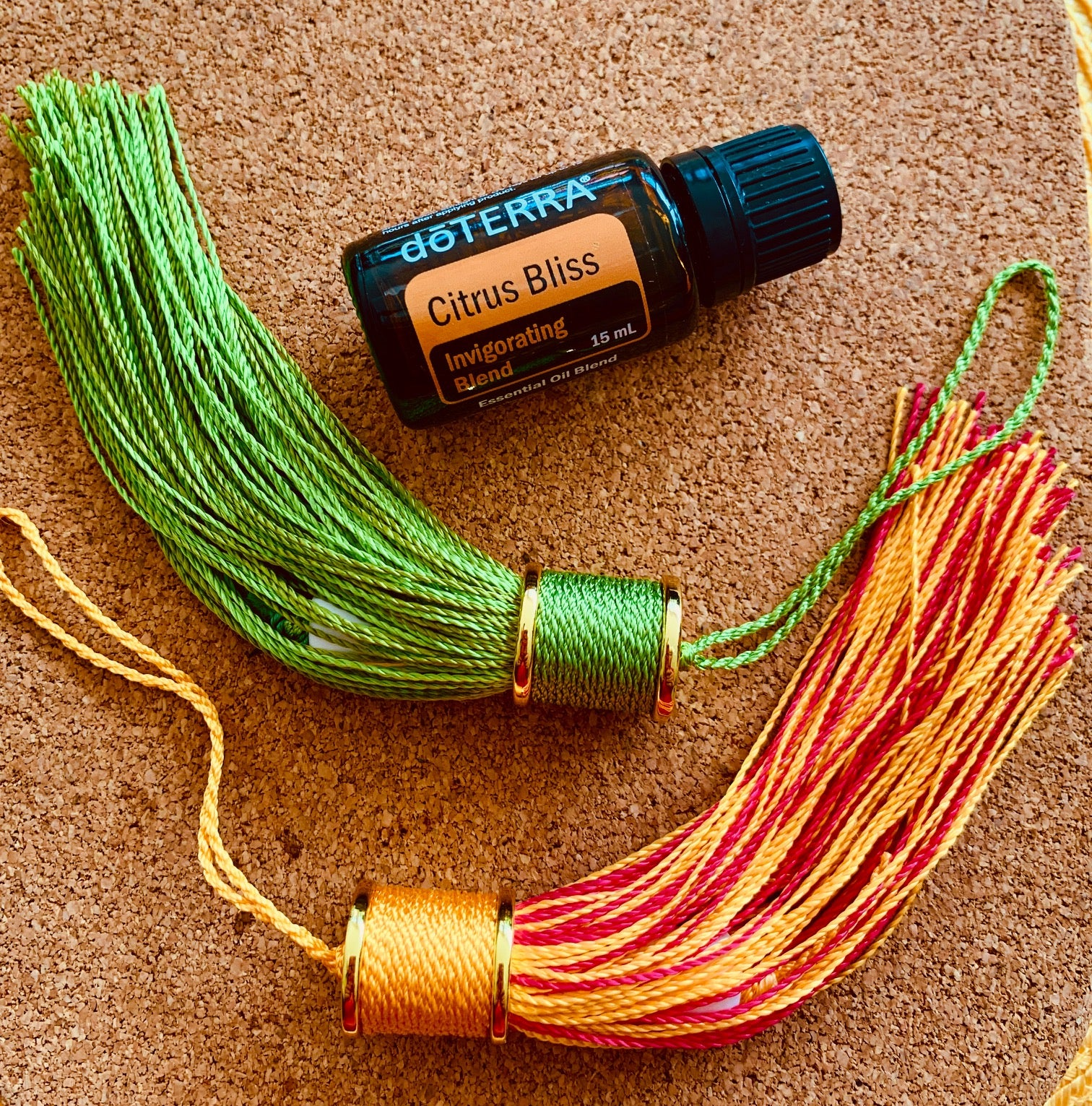 doTerra fragrance oil- Citrus Bliss - Travel Tassel Accessories