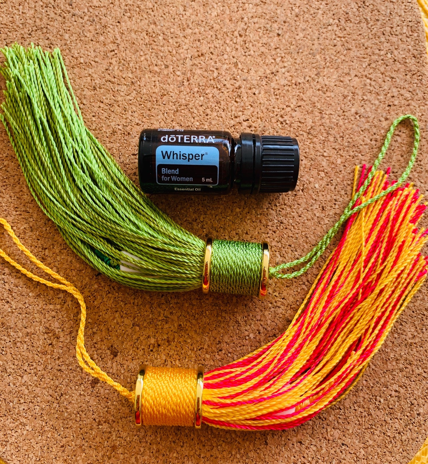 doTerra essential oil whisper blend - fragrant travel tassel