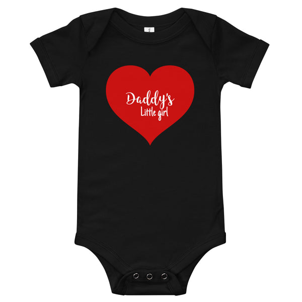 Daddy's Little Girl father's day bodysuit
