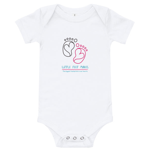 Footprint bodysuit