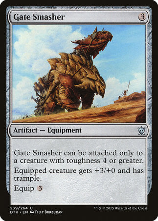 Gate Smasher [Dragons of Tarkir] | Geekified