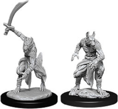 DUNGEONS & DRAGONS: NOLZUR'S MARVELOUS UNPAINTED MINIATURES: JACKALWERE | Geekified