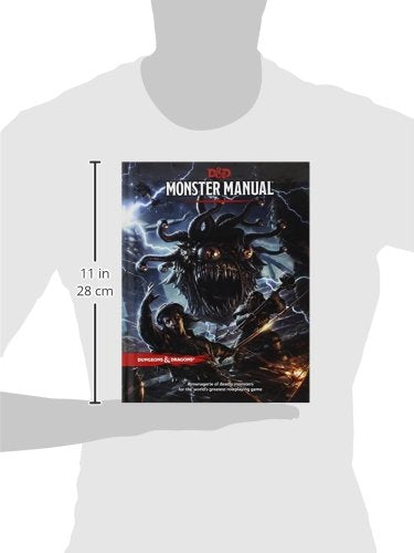 5TH ED Monster Manual | Geekified