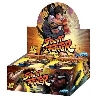 UFS Street Fighter Booster Packs | Geekified