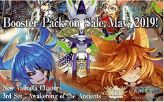 "Force of Will ""Awakening of the Ancients"" Booster Pack 