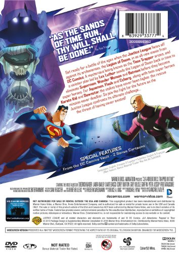 "JLA Adventures "" Trapped In Time"" (Used) 
