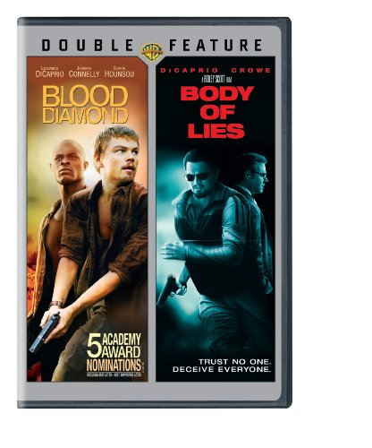 "Double Feature ""Blood Diamond & Body of Lies"" (Used) 