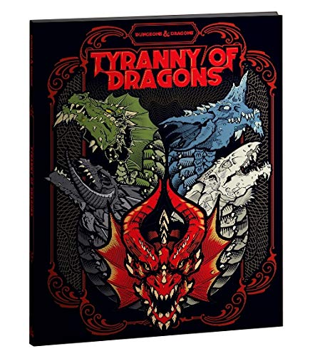 "5TH ED Adventure "" Tyranny of Dragons"" Alternate Cover 