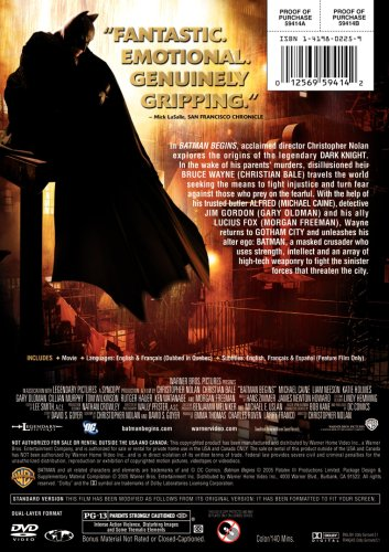 """Batman Begins"" Used 
