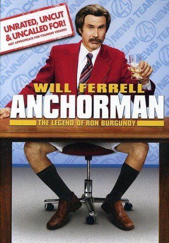"""Anchorman The Legend of Ron Burgundy""  (Used) 