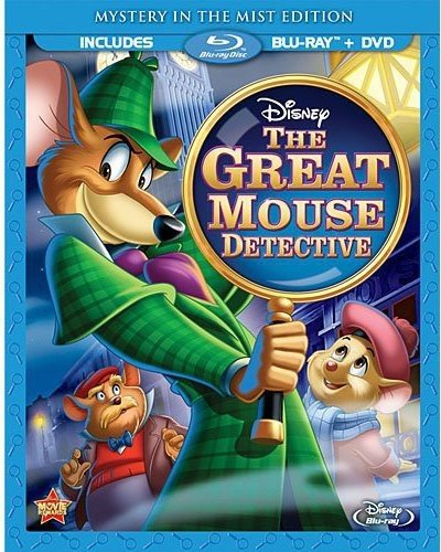 """The Great Mouse Detective"" (Used) DVD+BLU-RAY 