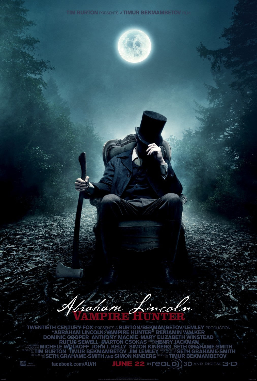 """Abraham Lincoln Vampire Hunter"" (Used) 