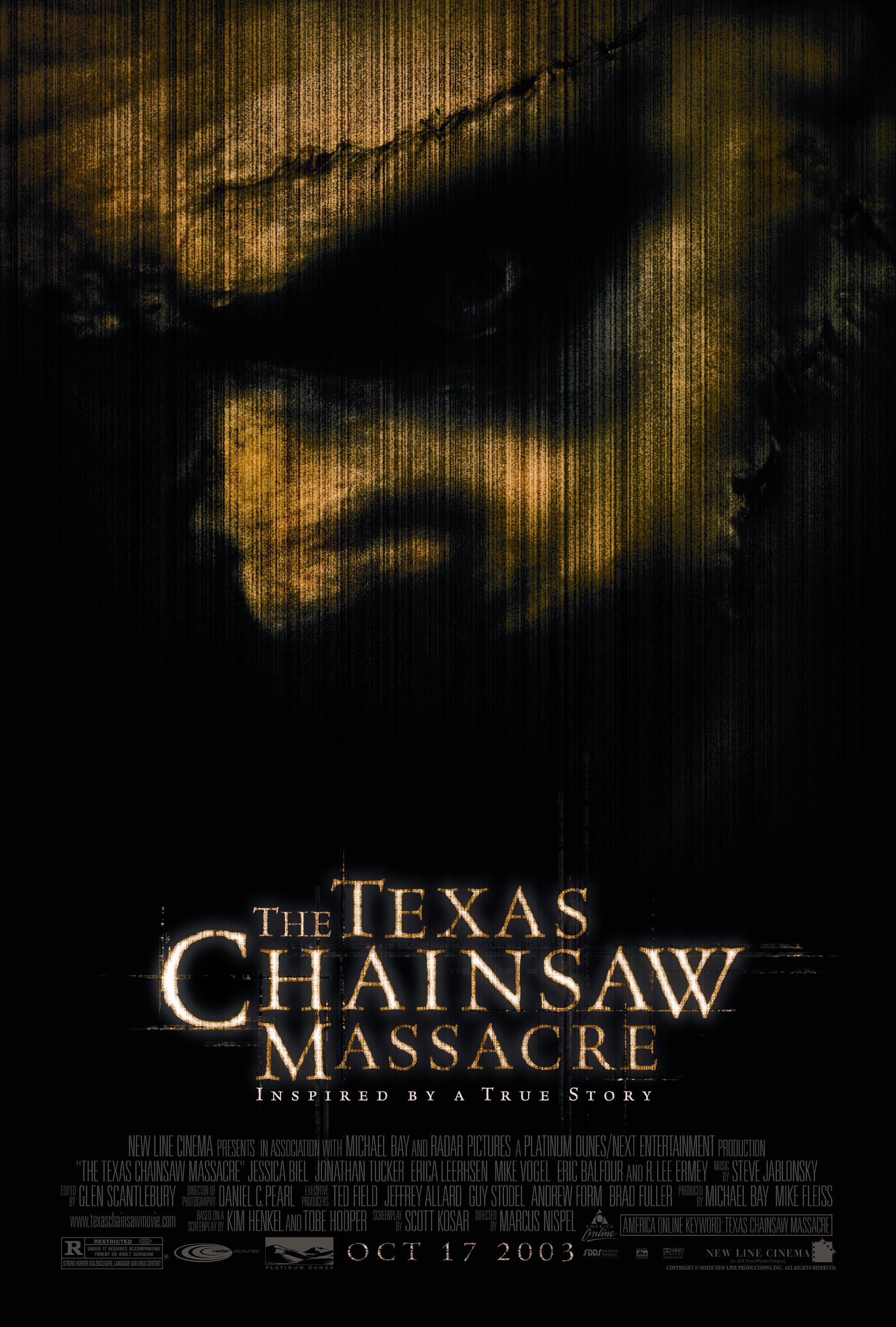 """The Texas Chainsaw Massacre""  (Used) 