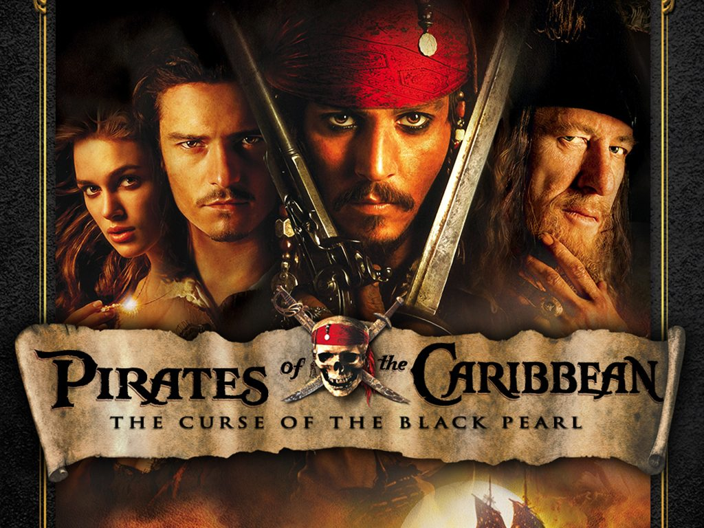 "Pirates of the Caribbean "" The Curse of the Black Pearl""  (Used) 
