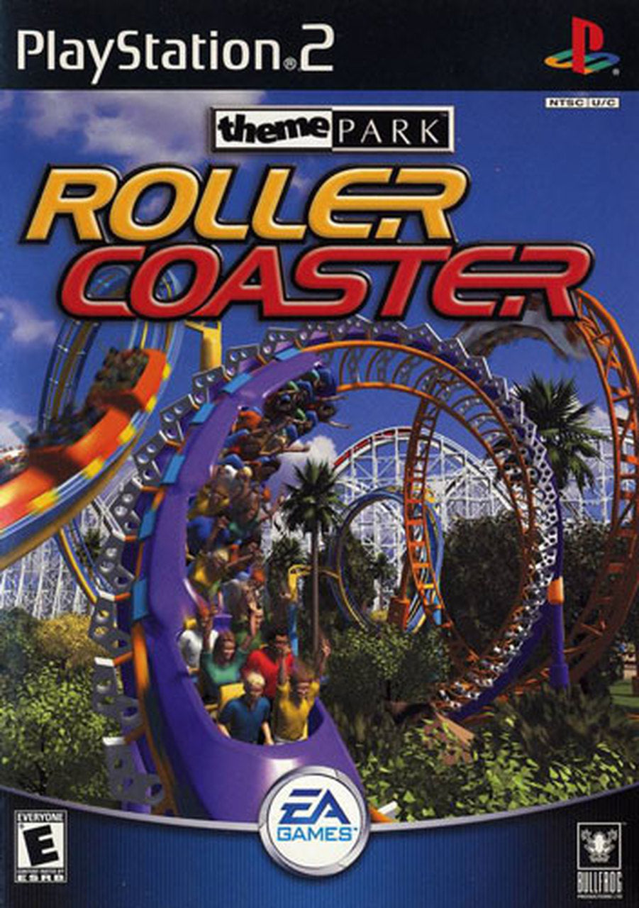 "PS2 ""Theme Park Roller Coaster"" Used 