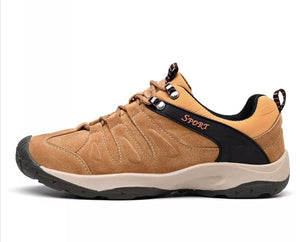 Genuine Leather Sport Sneakers