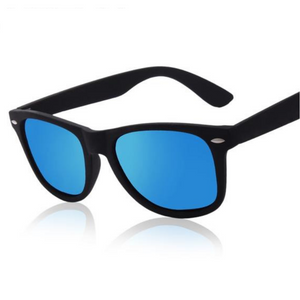 Retro Designer Coated Sunglasses