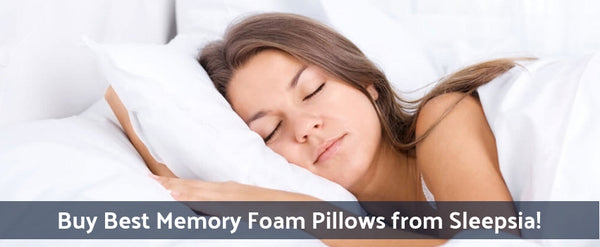 Buy Best Memory Foam Pillows from Sleepsia!