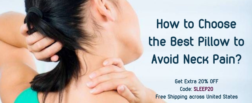 How to Choose the Best Pillow to Avoid Neck Pain? | Sleepsia Bamboo Pillow