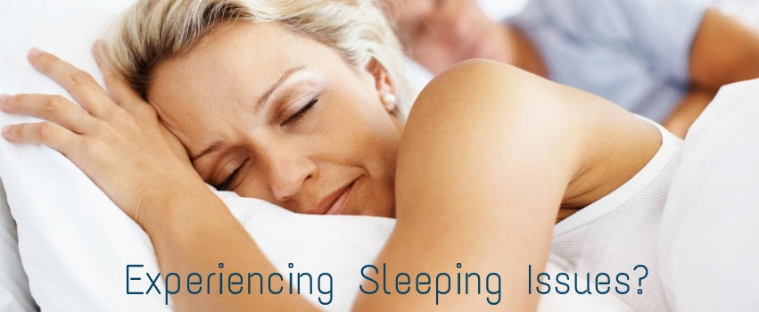 Experiencing Sleeping Issues?