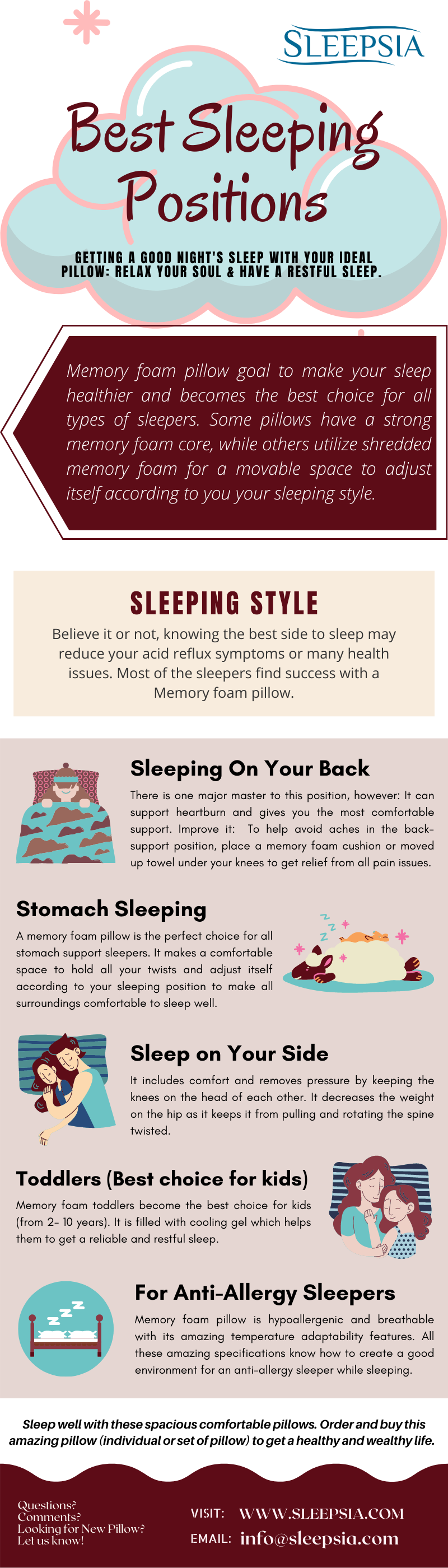 Best Sleeping Positions
