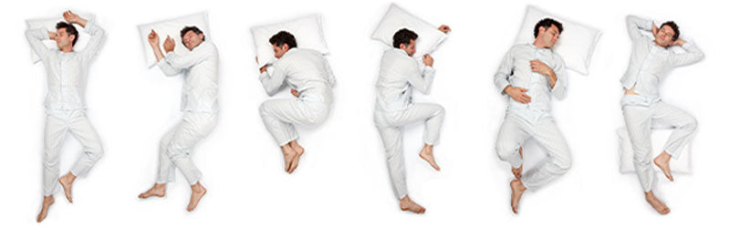 Sleep Positions (Freefaller , The Log, The Fetal, Starfish, The Yearner, The Soldier)