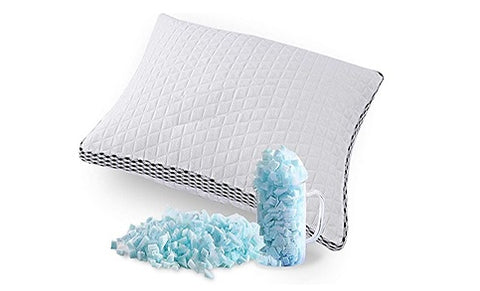 pillow with cooling gel