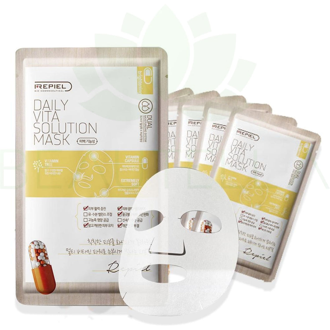 Repiel Daily Vita Solution Mask - Face Mask