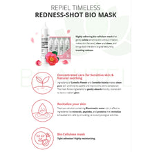 Repiel Timeless Redness-Shot Bio Mask - Face Mask