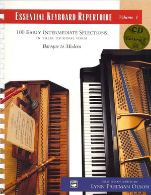 Essential Keyboard Repertoire: 100 Early Intermediate Selections In Their Original Form (essential Keyboard Repertoire)