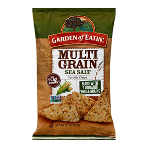 Garden Of Eatin' Multigrain Sea Salt - Multigrain - Case Of 12 - 8.1 Oz.