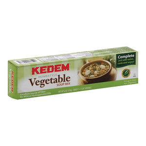 Kedem Vegetable Soup Mix - Case Of 24 - 6 Oz.
