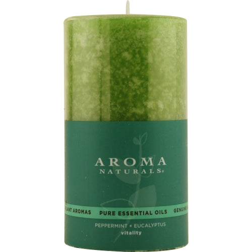 Vitality Aromatherapy By Vitality Aromatherapy One 2.75 X 5 Inch Pillar Aromatherapy Candle...
