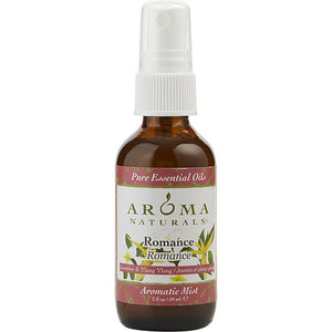 ROMANCE AROMATHERAPY by Romance Aromatherapy AROMATIC MIST SPRAY 2 OZ.  COMBINES THE ESSENTIAL OILS OF YLANG YLANG & JASMINE TO CREATE PASSION AND ROMANCE.
