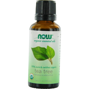 ESSENTIAL OILS NOW by NOW Essential Oils TEA TREE OIL 100% ORGANIC 1 OZ