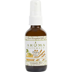 PEACE AROMATHERAPY by Peace Aromatherapy AROMATIC MIST SPRAY 2 OZ - COMBINES THE ESSENTIAL OILS OF ORANGE, CLOVE & CINNAMON TO CREATE A WARM AND COMFORTABLE ATMOSPHERE