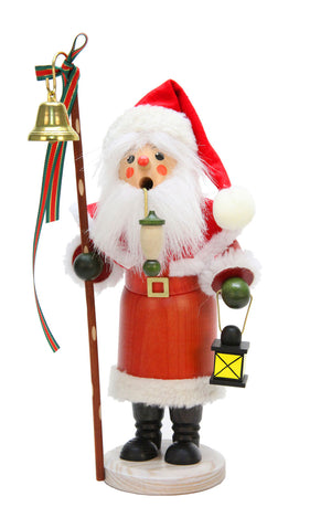 Alexandor Taron Christian Ulbricht Santa With Lantern And Staff With Bell Incense Burner