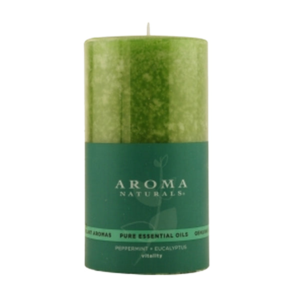 Vitality Aromatherapy One 2.75 X 5 Inch Scented Pillar Candle