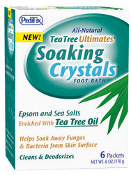 Tea Tree Ultimates Soothing Crystals 1 Oz Packets 6-pkg