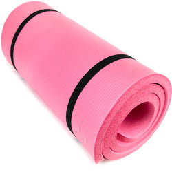 "Ultra Thick 1"""" Yoga Cloud, Pink"