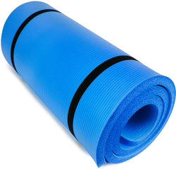 "Ultra Thick 1"""" Yoga Cloud, Blue"