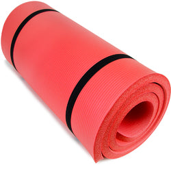 "Ultra Thick 1"""" Yoga Cloud, Red"