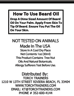 Torch Trainers Beard Oil - Sweet 60's - Case of 12